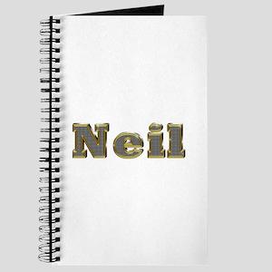 Neil Gold Diamond Bling Journal