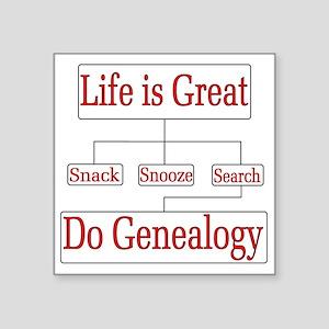 Do Genealogy Chart Sticker