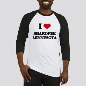 I love Shakopee Minnesota Baseball Jersey