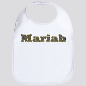 Mariah Gold Diamond Bling Bib