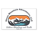 stone mountain Sticker