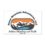stone mountain Wall Decal