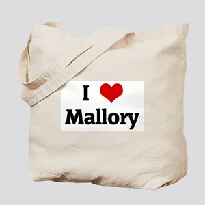 I Love Mallory Tote Bag