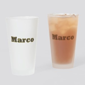 Marco Gold Diamond Bling Drinking Glass