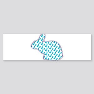 Noble easter bunny Bumper Sticker