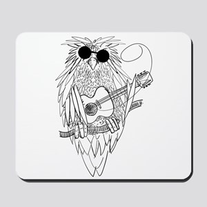 Music owl Mousepad