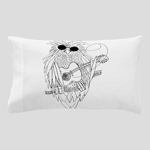 Music owl Pillow Case