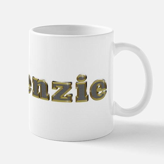 Makenzie Gold Diamond Bling Mugs
