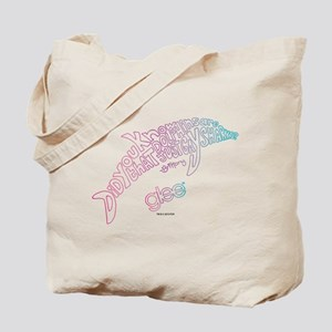 Glee Dolphin Tote Bag