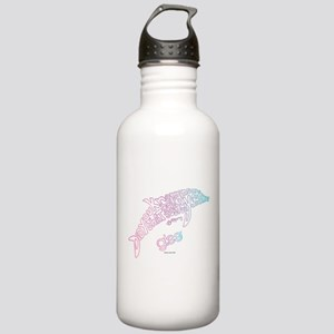 Glee Dolphin Stainless Water Bottle 1.0L
