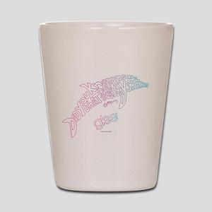 Glee Dolphin Shot Glass