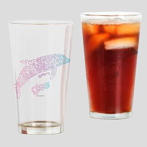Glee Dolphin Drinking Glass