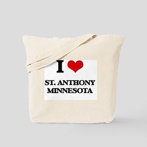 I love St. Anthony Minnesota Tote Bag