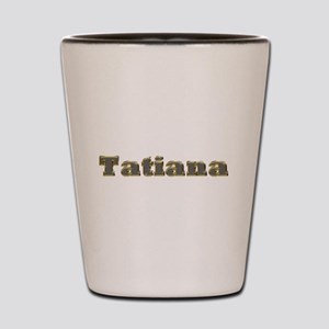 Tatiana Gold Diamond Bling Shot Glass