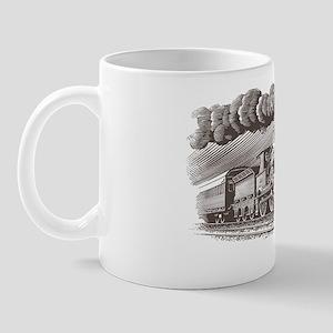 VINTAGE STEAM TRAIN Mug