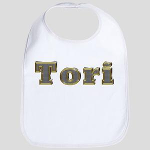 Tori Gold Diamond Bling Bib