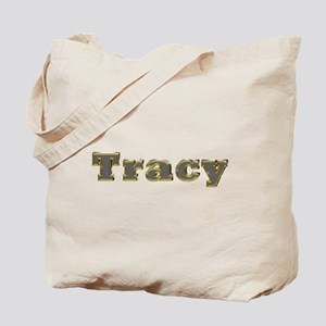 Tracy Gold Diamond Bling Tote Bag