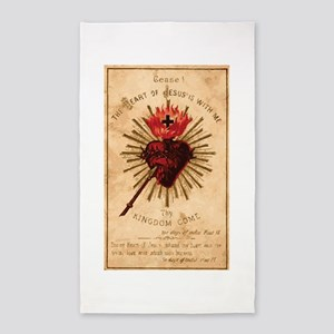 Heart of Jesus Area Rug