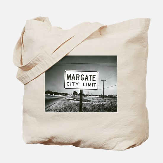 Margate City Limits Street Sign Tote Bag