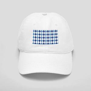 Blue Arglye Cap