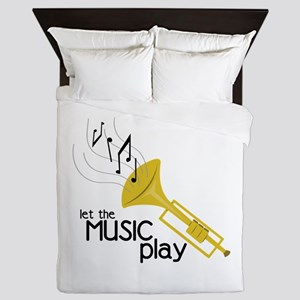 Let the Music Play Queen Duvet