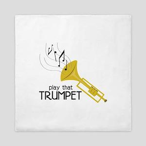 Play that Trumpet Queen Duvet