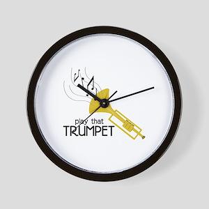 Play that Trumpet Wall Clock