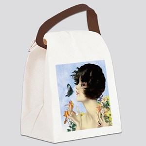 Clive Butterfly Kiss Canvas Lunch Bag