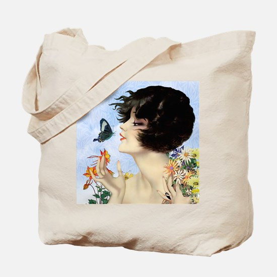Clive Butterfly Kiss Tote Bag