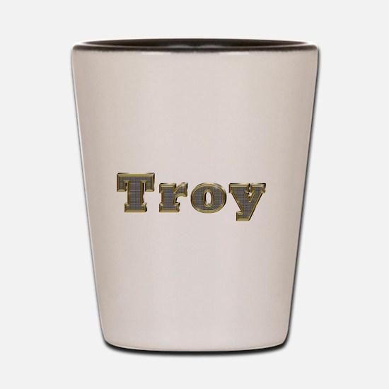 Troy Gold Diamond Bling Shot Glass