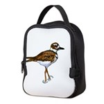 Killdeer standing Neoprene Lunch Bag