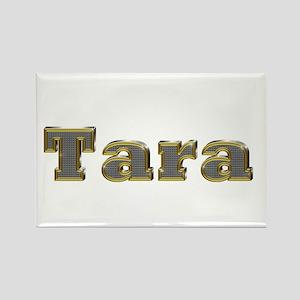 Tara Gold Diamond Bling Rectangle Magnet