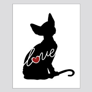 Sphynx Love Small Poster