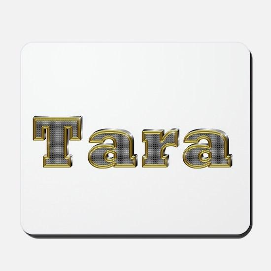 Tara Gold Diamond Bling Mousepad