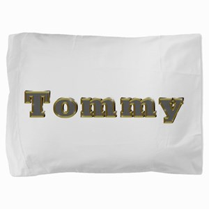 Tommy Gold Diamond Bling Pillow Sham