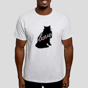 Norwegian Forest Cat Light T-Shirt