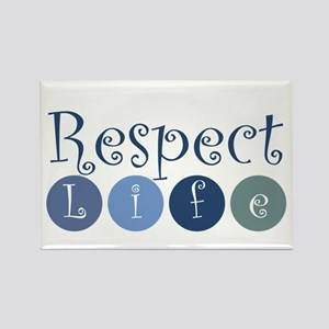 Respect Life Rectangle Magnet