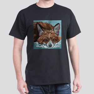 Red Fox in Snow T-Shirt