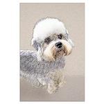 Dandie Dinmont Terrier Large Poster