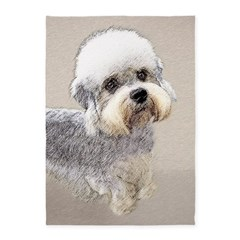 Dandie Dinmont Terrier 5'x7'Area Rug