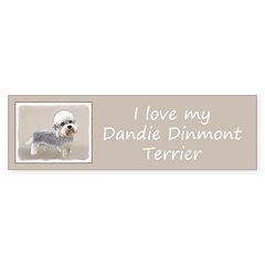 Dandie Dinmont Terrier Sticker (Bumper 50 pk)