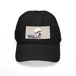 Dandie Dinmont Terrier Black Cap with Patch