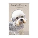 Dandie Dinmont Terrier Mini Poster Print