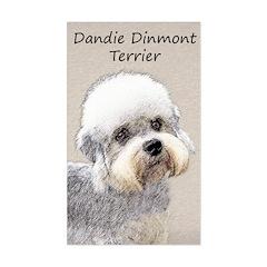Dandie Dinmont Terrier Sticker (Rectangle)