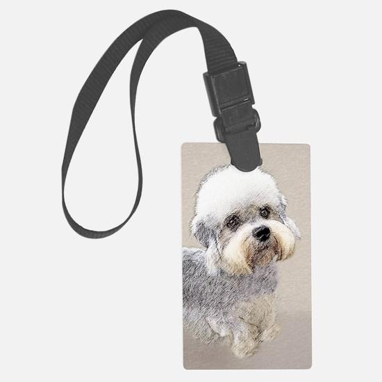 Dandie Dinmont Terrier Luggage Tag