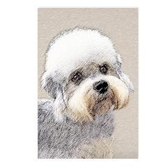 Dandie Dinmont Terrier Postcards (Package of 8)