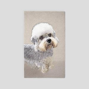 Dandie Dinmont Terrier Area Rug