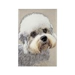 Dandie Dinmont Terrier Rectangle Magnet (100 pack)