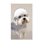 Dandie Dinmont Terrier Sticker (Rectangle 10 pk)