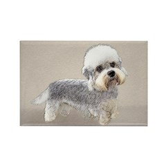 Dandie Dinmont Terrier Rectangle Magnet (10 pack)